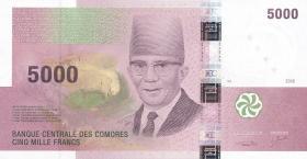 Komoren / Comoros P.18 5000 Francs 2006 (1)