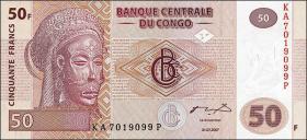 Kongo / Congo P.097 50 Francs 2007 (1)