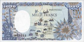 Kongo / Congo Volksrepublik P.10a 1000 Francs 1987 (1)