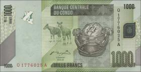 Kongo / Congo P.101a 1000 Francs 2005 (2012) (1)