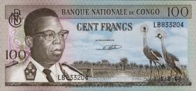 Kongo / Congo P.006 100 Francs 1964  (2)