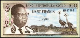 Kongo / Congo P.006a 100 Francs 1964  (1)