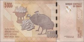 Kongo / Congo P.102 5000 Francs 2005 (2012) (1)