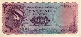 Kongo / Congo P.007 500 Francs 1961 (1/1-)