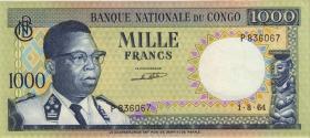 Kongo / Congo P.008 1000 Francs 1961 (2)