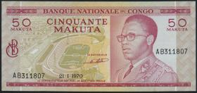 Kongo / Congo P.011a 50 Makuta 1970 (1)