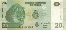 Kongo / Congo P.094 20 Francs 2003 (1)