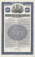 Konversionskasse Schuldverschreibung 100 $ vom 1. Juli 1936
