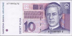 Kroatien / Croatia P.29 10 Kuna 1993 (1)