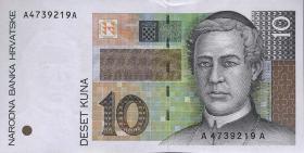 Kroatien / Croatia P.36 10 Kuna 1995 (1)
