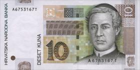 Kroatien / Croatia P.38b 10 Kuna 2012 (1)