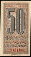 Kroatien / Croatia P.06a 50 Banica 1942 (1)