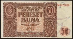 Kroatien / Croatia P.01 500 Kuna 1941 (1)