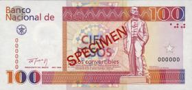 Kuba / Cuba P.FX43s 100 Pesos Convertibles 1994 SPECIMEN (1)