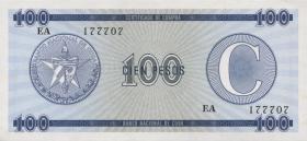 Kuba / Cuba P.FX25 100 Pesos o.J. Serie C (1)