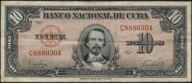 Kuba / Cuba P.079a 10 Pesos 1949 (3)