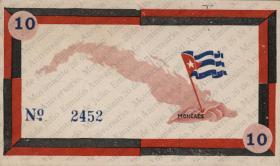 Kuba / Cuba 10 Pesos 1958 Guerilla-Note (1)