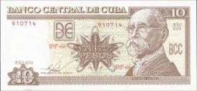 Kuba / Cuba P.117p 10 Pesos 2014 (1)