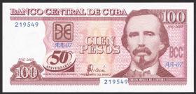 Kuba / Cuba P.120 100 Pesos 2000 (1) Gedenkbanknote