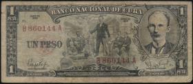 Kuba / Cuba P.090 1 Peso 1959 (4)