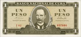 Kuba / Cuba P.094b 1 Peso 1964 (1)