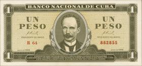 Kuba / Cuba P.094c 1 Peso 1965 (1)