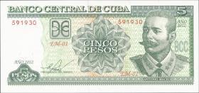 Kuba / Cuba P.116k 5 Pesos 2012 (1)