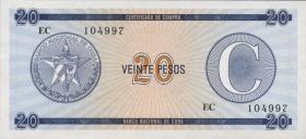 Kuba / Cuba P.FX23 20 Pesos o.J. Serie C (1)