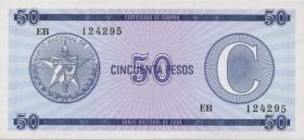 Kuba / Cuba P.FX24 50 Pesos o.J. Serie C (1)