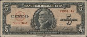 Kuba / Cuba P.078 5 Pesos 1949.50 (4)