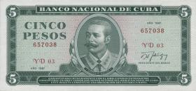 Kuba / Cuba P.103c 5 Pesos 1987 (1)
