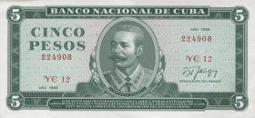 Kuba / Cuba P.103d 5 Pesos 1988 (1)