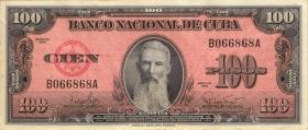 Kuba / Cuba P.093 100 Pesos 1959 (1/1-)