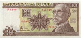 Kuba / Cuba P.117a 10 Pesos 1997 (1)