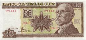Kuba / Cuba P.117b 10 Pesos 1998 (1)