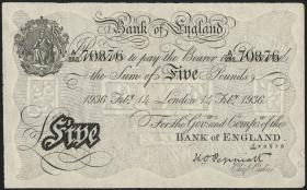 KZ Oranienburg 5 Pfund Fälschung 1936 (2/1)
