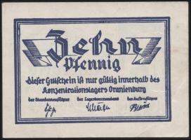 KZ Oranienburg 10 Pfennig (1933) Lagergeld (2)
