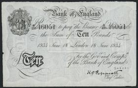 KZ Oranienburg 10 Pfund Fälschung 1934 (2)