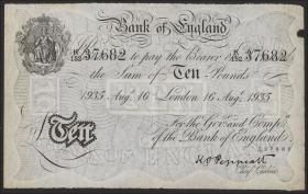 KZ Oranienburg 10 Pfund Fälschung 1935 (2)