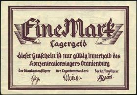 KZ Oranienburg 1 RM (1933) Lagergeld (1-)