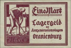 KZ Oranienburg 1 RM (1933) Lagergeld (1)