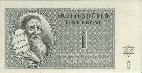 Get-08/14 Getto Theresienstadt 1 - 100 Kronen 1943 (1)