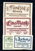 KZ Oranienburg 5 Pfennig - 1 Mark (1933) (2/1)