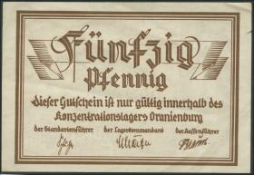 KZ Oranienburg 50 Pfennig Lagergeld (2)
