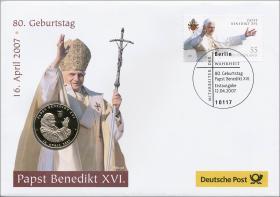 V-169 • Papst Benedikt XVI. - 80. Geburtstag