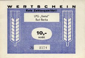"""L.012.4 LPG Bad Berka """"Ilmtal"""" 10 Mark (1)"""