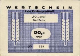 """L.012.5 LPG Bad Berka """"Ilmtal"""" 20 Mark (1)"""