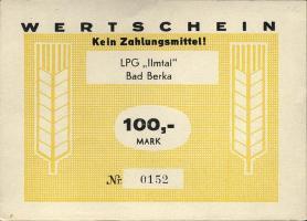 """L.012.7 LPG Bad Berka """"Ilmtal"""" 100 Mark (1)"""