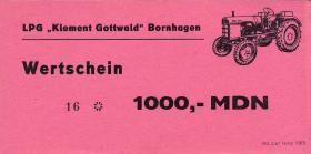 """L.014a.5 LPG Bornhagen """"Klement Gottwald"""" 1000 MDN (1)"""