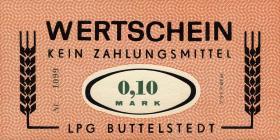 """L.017.1/8 LPG Buttelstedt """"Einheit"""" 0,10 - 100 Mark (1)"""